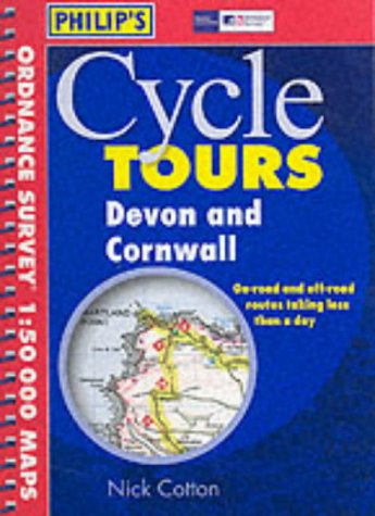9780540081998: Devon and Cornwall (Philip's Cycle Tours)