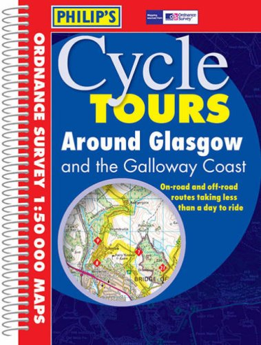 9780540082094: Around Glasgow (Philip's Cycle Tours)