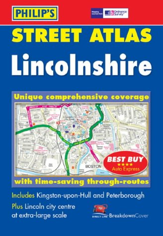 Street Atlas Lincolnshire: Unique comprehensive coverage with