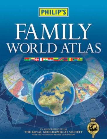 9780540084111: Philip's Family World Atlas