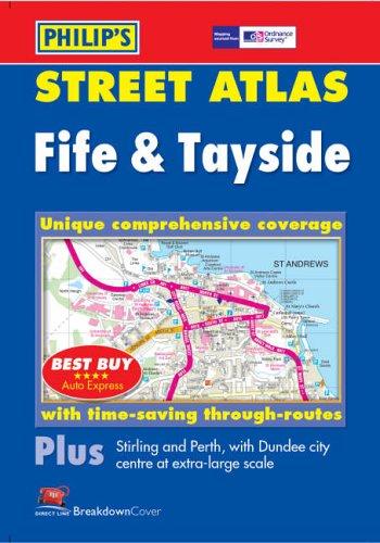 9780540085279: Philip's Street Atlas Fife and Tayside: Pocket (Pocket Street Atlas)