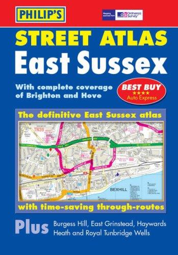 Philip's Street Atlas East Sussex: Pocket (Philip's Street Atlases)