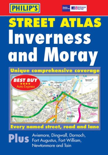 9780540086528: Philip's Street Atlas Inverness and Moray: Pocket