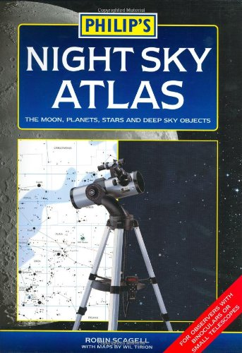 9780540087006: Philip's Night Sky Atlas: The Moon, Planets, Stars and Deep Sky Objects