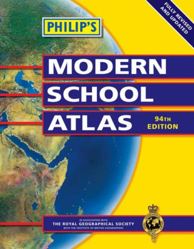 9780540087457: Philip's Modern School Atlas (Philip's School Atlases)