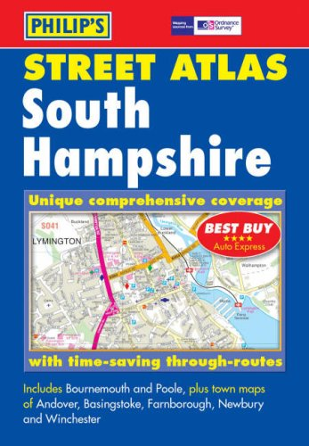 9780540087730: Philip's Street Atlas South Hampshire: Pocket Edition