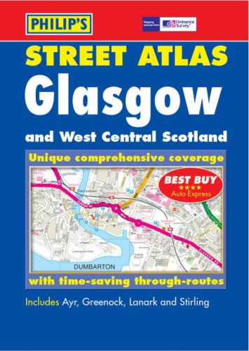 9780540088355: Glasgow and West Central Scotland Street Atlas (Philip's Street Atlases)