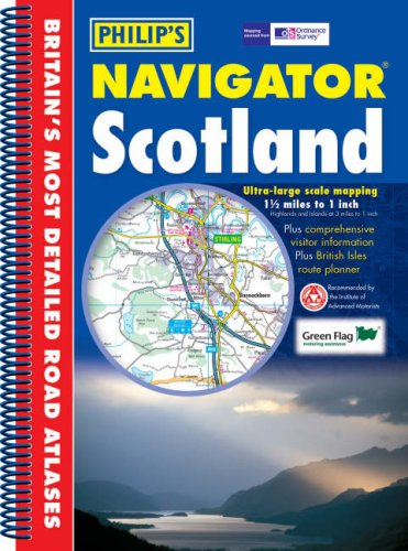 9780540088867: Navigator Scotland