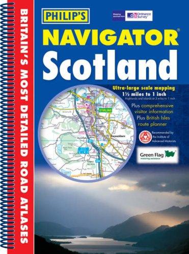 9780540088867: Navigator Scotland (Navigator Road Atlas)