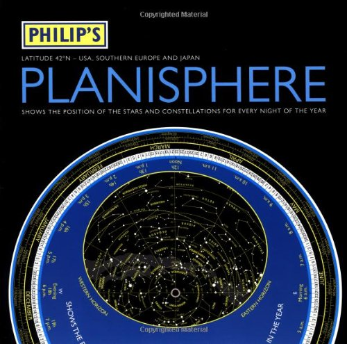 9780540089406: Philip's Planisphere: USA, Southern Europe, Japan