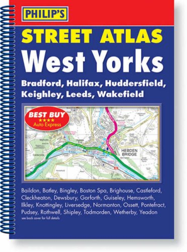 9780540089901: Philip's Street Atlas West Yorkshire: Spiral Edition