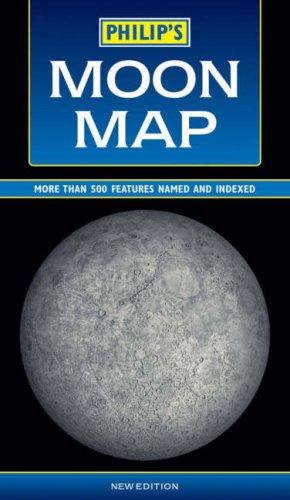 9780540090587: Philip's Moon Map