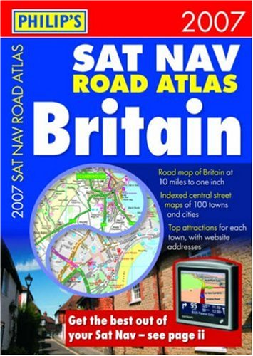 9780540090808: Philip's SatNav Atlas Britain (Road Atlases)