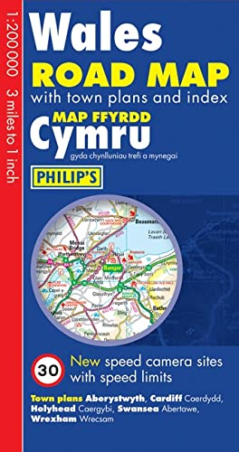 9780540091034: Philip's Wales Road Map (Road Maps)