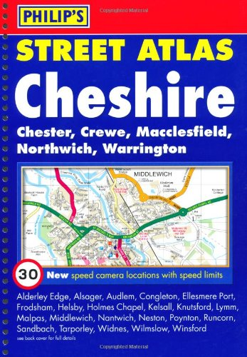 9780540091638: Philip's Street Atlas Cheshire: Spiral Edition (Philip's Street Atlases)