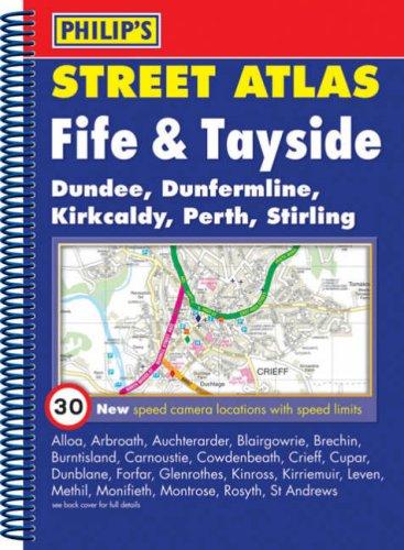 9780540092031: Philip's Street Atlas Fife and Tayside