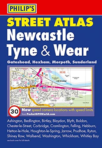 9780540092970: Philip's Street Atlas Newcastle Tyne & Wear: Pocket Edition