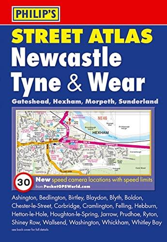 9780540092970: Philip's Street Atlas Newcastle Tyne and Wear (Philip's Street Atlases)