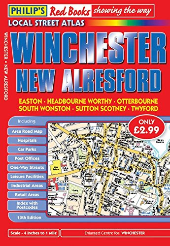 9780540093427: Philip's Red Books Winchester and New Alresford