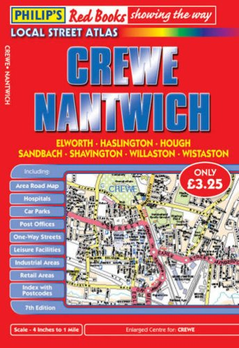 9780540093571: Philip's Red Books Crewe and Nantwich (Philip's Local Street Atlases)