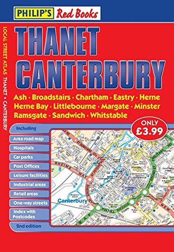 9780540093830: Philip's Red Books Thanet and Canterbury