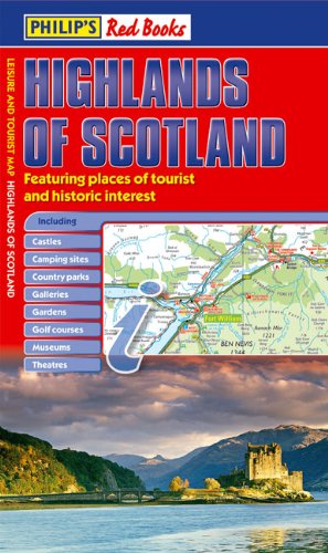 9780540094158: Philip's Red Books Highlands of Scotland (Leisure & Tourist Maps)