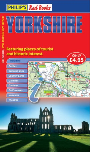 9780540094387: Philip's Red Books Yorkshire: Leisure and Tourist Map (Leisure & Tourist Maps)