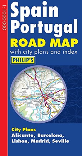 Philip's Spain and Portugal Road Map (Philip's Road Maps): Author