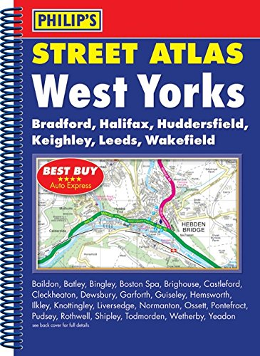 9780540094776: Philip's Street Atlas West Yorkshire