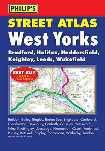 9780540094905: Philip's Street Atlas West Yorkshire