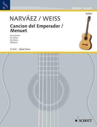 9780543502896: Canción del Emperor / Menuet D Major