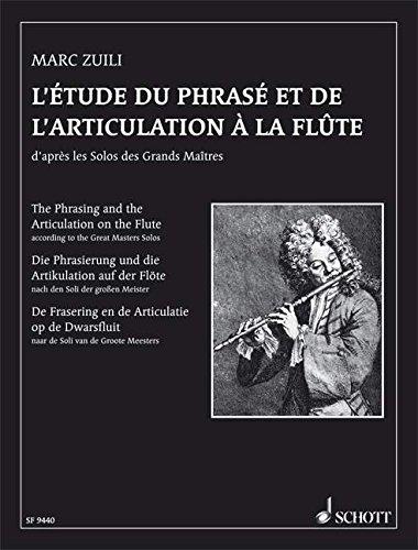 9780543504142: Etude du phras� et articulation � la fl�te