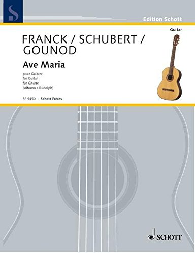 9780543504234: Ave Maria ( 3 Transcriptions ) Guitare