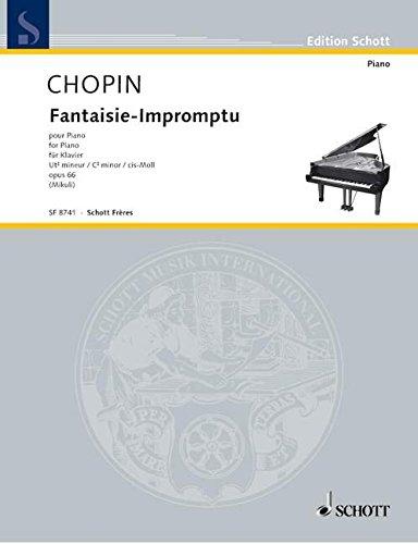 9780543504654: Fantaisie Impromptu op. 66
