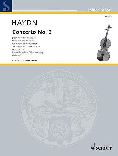 9780543508300: Concerto No. 2 G Major Hob.Viia:4