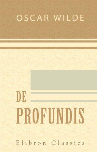 9780543690074: De Profundis