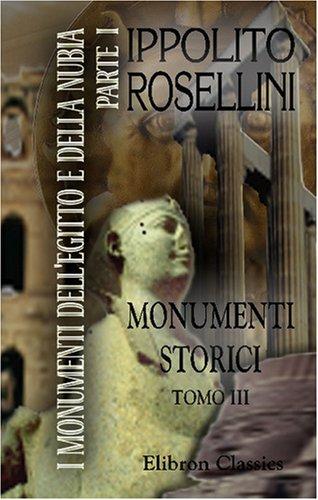9780543740342: I monumenti dell' Egitto e della Nubia: Parte 1. Monumenti storici. Tomo 3 (Italian Edition)