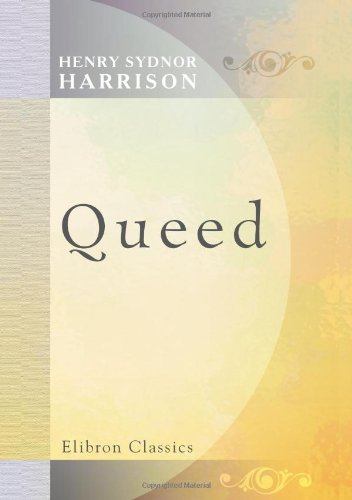9780543756787: Queed: A Novel