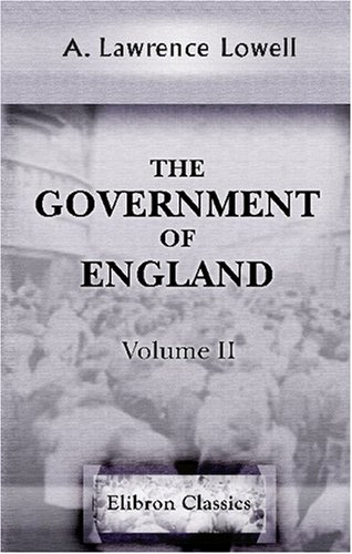 9780543767592: The Government of England: Volume 2
