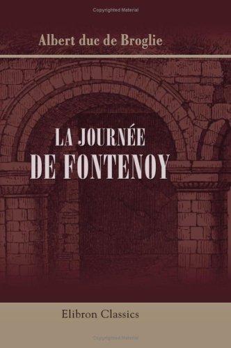 9780543773074: La journ�e de Fontenoy