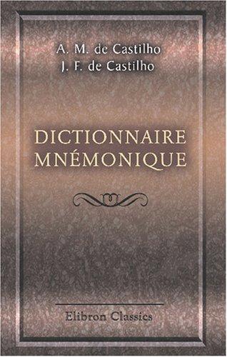 9780543791375: Dictionnaire mnémonique