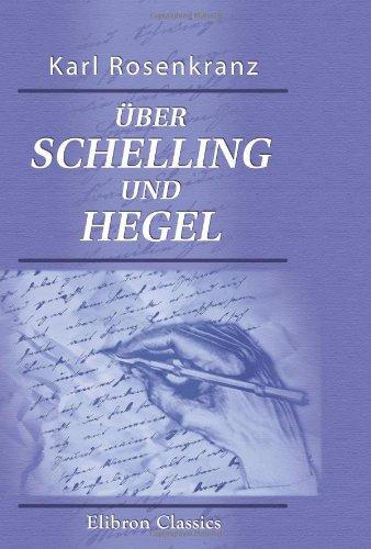 9780543816559: Über Schelling und Hegel: Ein Sendschreiben an Pierre Leroux