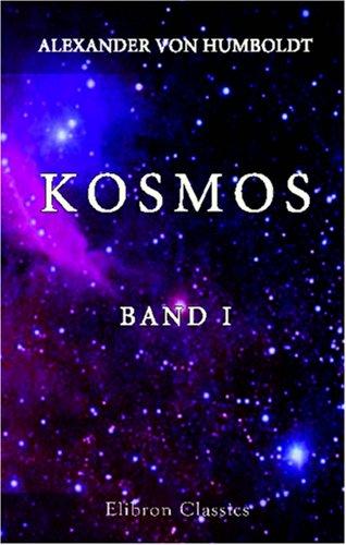 9780543831804: Kosmos: Entwurf einer physischen Weltbeschreibung. Band I (German Edition)