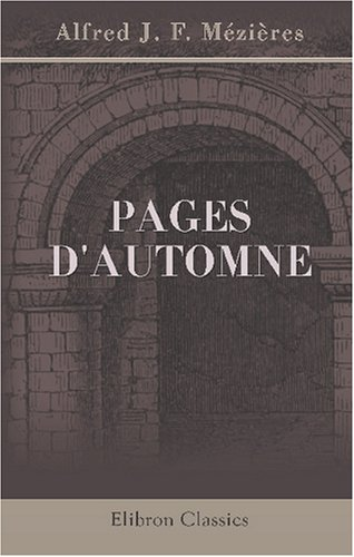 9780543849687: Pages d'automne (French Edition)