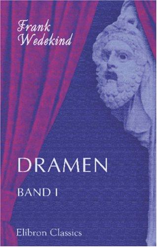 9780543856968: Dramen: Band I (German Edition)