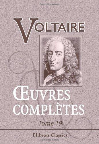 9780543862341: Œuvres complètes de Voltaire (French Edition)