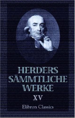 9780543871848: Herders sämmtliche Werke