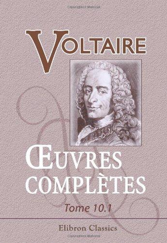 9780543871947: Œuvres complètes de Voltaire (French Edition)