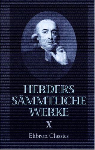 9780543871985: Herders sämmtliche Werke (German Edition)