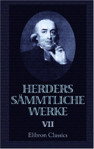 9780543872043: Herders sämmtliche Werke